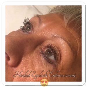 Melanie Aslin Permanent Makeup- Angie Healed Eyelash Enhancement