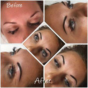 Melanie Aslin Permanent Makeup- Laura Soft Powder Brows