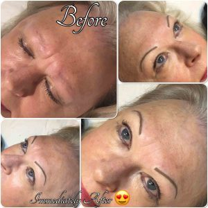 Melanie Aslin Permanent Makeup- Kate Soft Powder Eyebrows