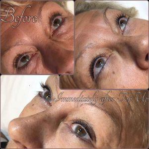 Melanie Aslin Permanent Makeup- Angie Upper Lash Enhancement 2nd Session