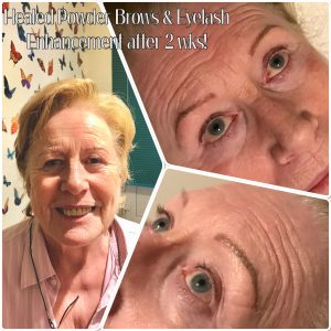 Melanie Aslin Permanent Makeup- Chris Healed Brows and Lash Enhancement