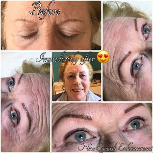 Melanie Aslin Permanent Makeup- Chris Powdered Brows & Lash Enhancement