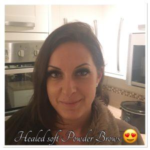 Melanie Aslin Permanent Makeup- Laura Healed Brows