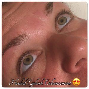 Melanie Aslin Permanent Makeup- Vicky Healed Eyelash Enhancement