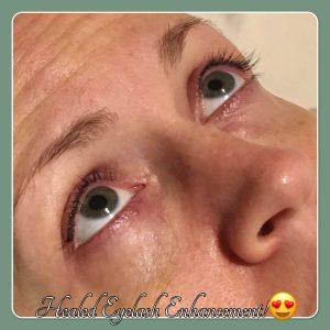 Melanie Aslin Permanent Makeup- Justine Healed Eyelash Enhancement