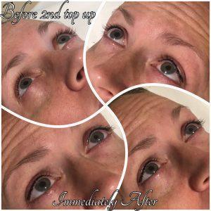 Melanie Aslin Permanent Makeup- Justine Eyelash Enhancement 2nd Session