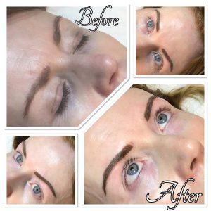 Melanie Aslin Permanent Makeup- Darain Soft Powder Brows