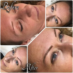 Melanie Aslin Permanent Makeup- Judith Microblading Eyebrows
