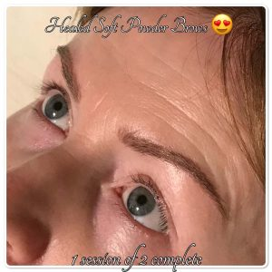 Permanent Makeup Healed Brows