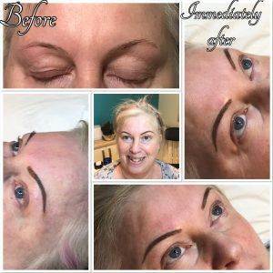 Permanent Eyebrows- Chrissie Eyebrows 1st session
